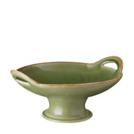 SMALL CLASSIC CURVED SERVING PLATE WITH STAND 5