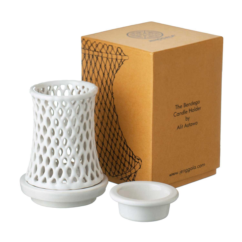 Bendega Candle Holder Set with Bergamot Fragrance