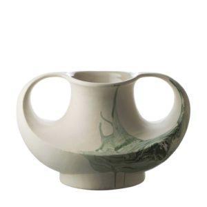 ceramic decorative stoneware vase