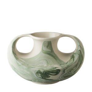 ceramic decorative marble stoneware vase