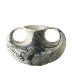 ceramic decorative marble onyx marble stoneware vase