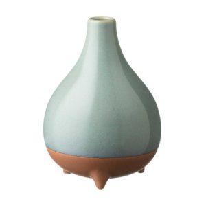 ceramic decorative ocean blue pasih stoneware vase