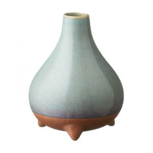 ceramic decorative ocean blue pasih stoneware vase