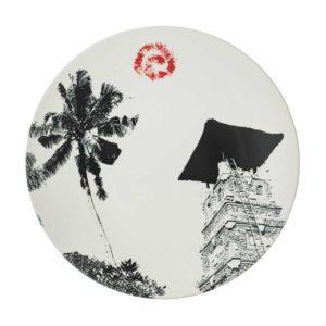 ceramic plate davina stephens dining dinner plate jenggala artwork ceramic