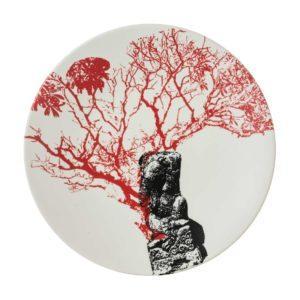 artwork ceramic davina stephens dessert plate dining plate salad plate