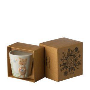 cup drinkware gift item jenggala artwork ceramic saucer stoneware tomoko konno transparent white with handpainting