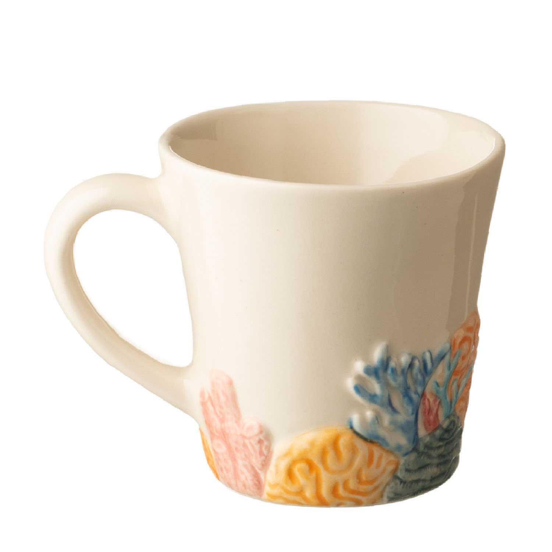 Coral Mug with Lid