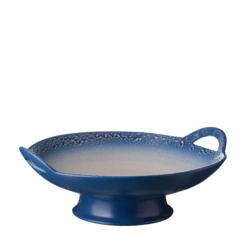 Medium Classic Curved Serving Plate With Stand