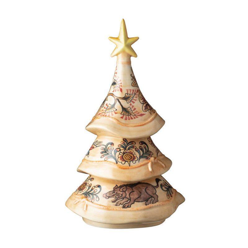Christmas Tree Hand Painting Kamasan 1