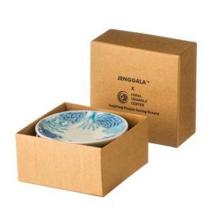 condiment dish jenggala artwork ceramic sauce dish set