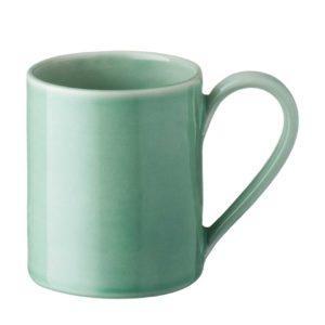 ceramic cup dark green gloss drinkware glass mug stoneware water