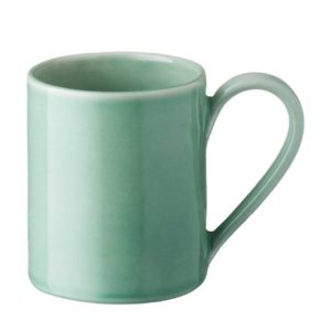 ceramic cup dark green gloss drinkware glass mug stoneware water