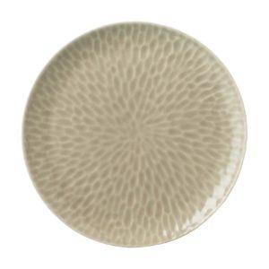 ceramic dining dining set dinner plate hammered indonesian food large plate stoneware transparent grey