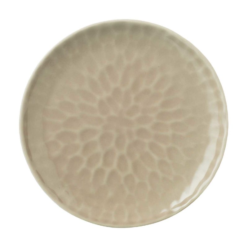 Hammered Bread & Butter Plate