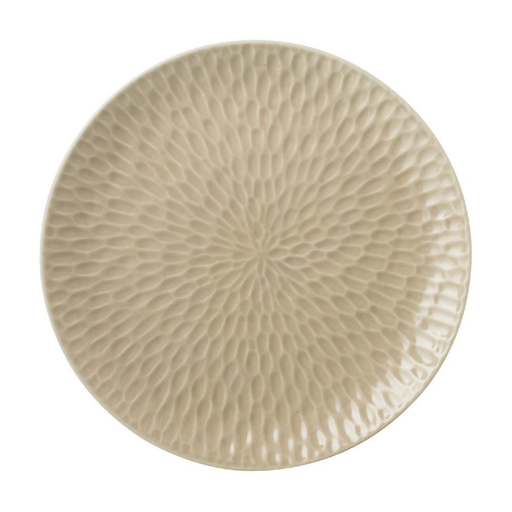Hammered Dinner Plate