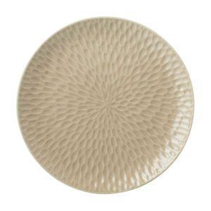 dining dinner plate hammered plate transparent grey