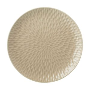 dining dinner plate hammered plate transparent grey