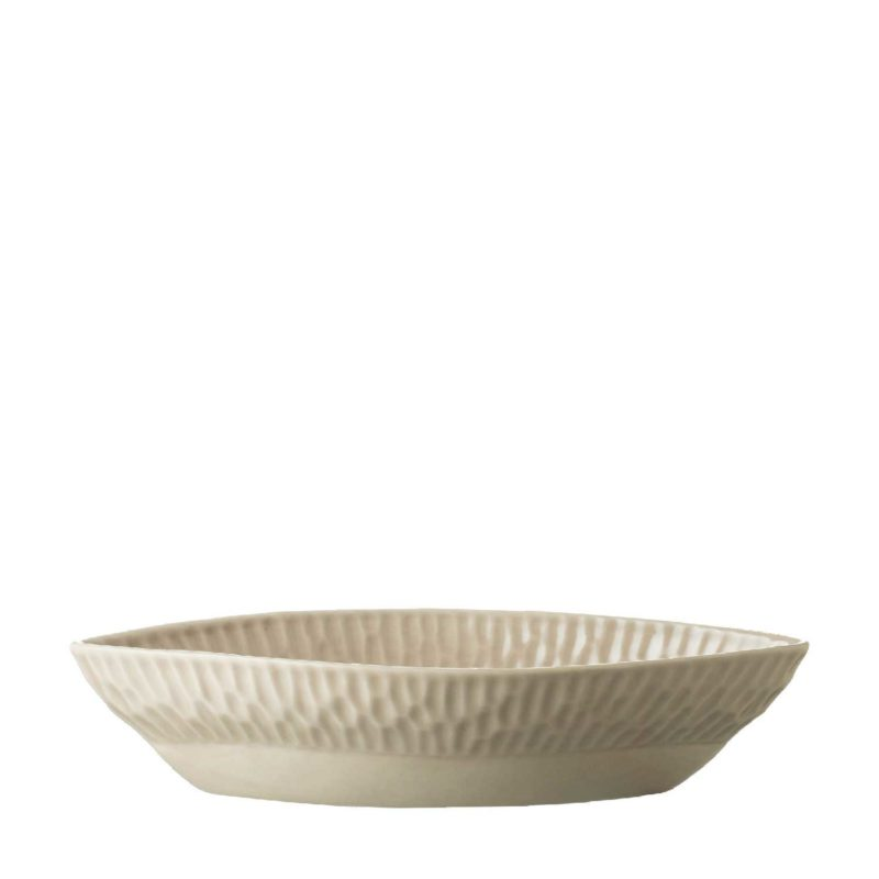 Medium Hammered Oval Bowl
