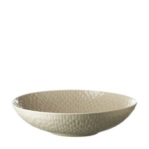 bowl dining hammered serving bowl transparent grey