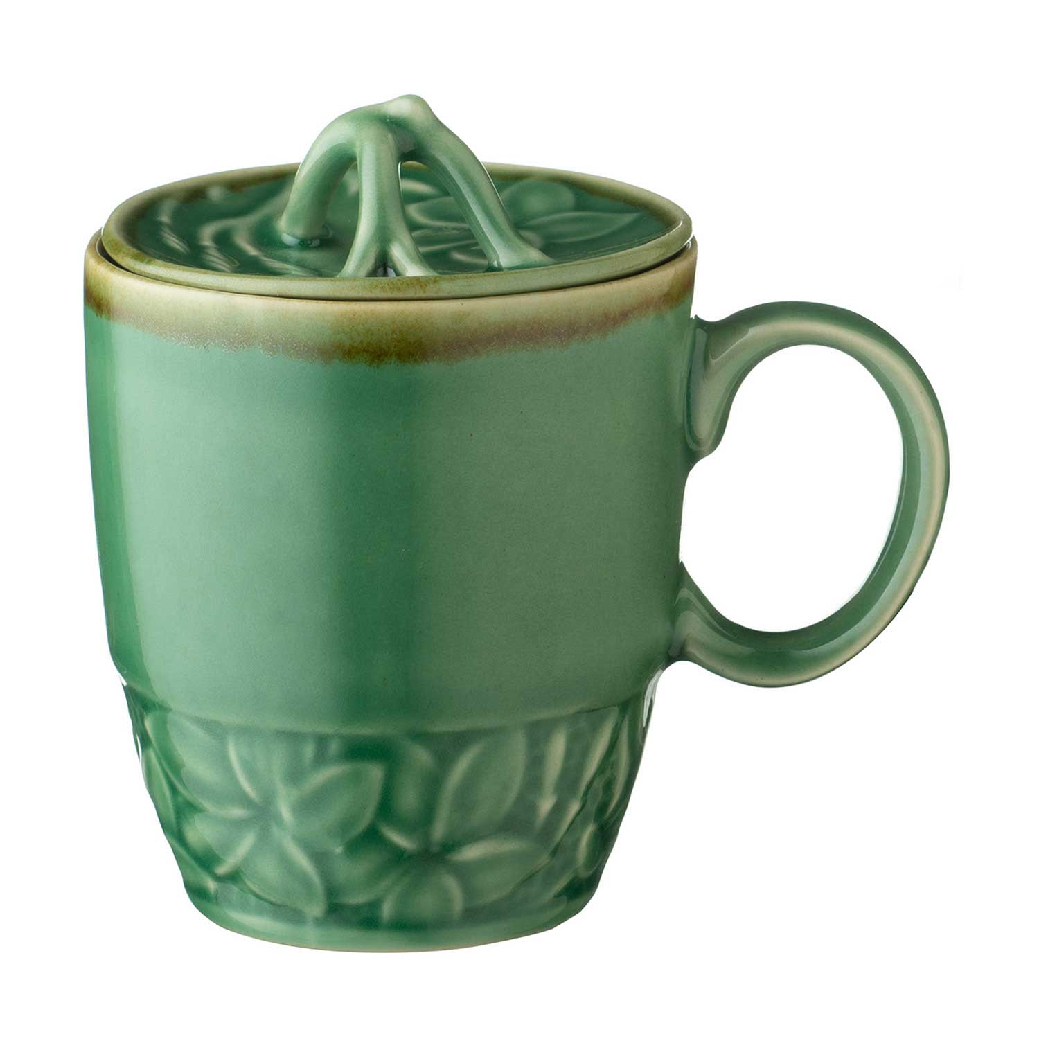 Frangipani Lid For Mug By Lukas