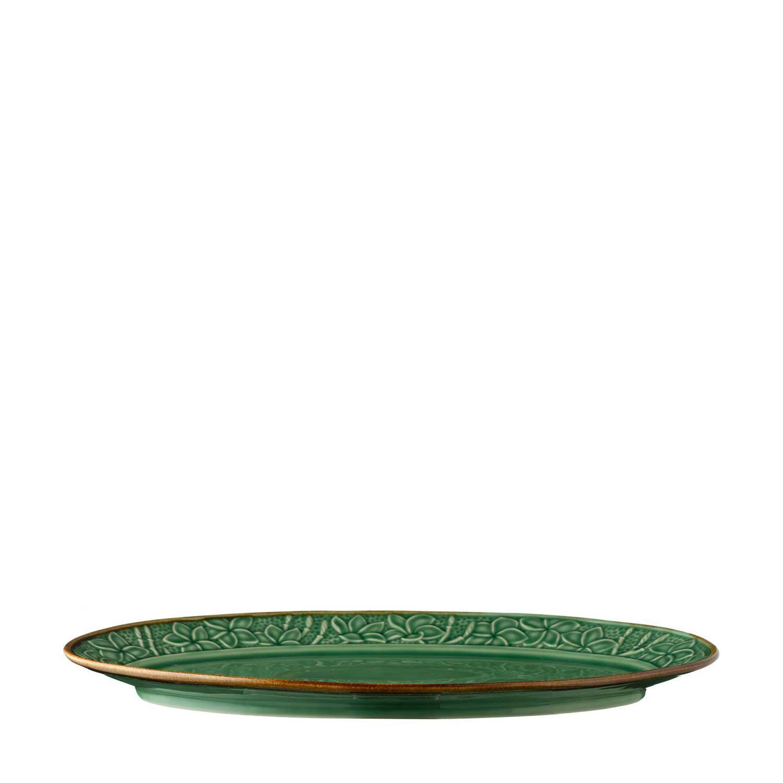 Frangipani Oval Plate by Lukas