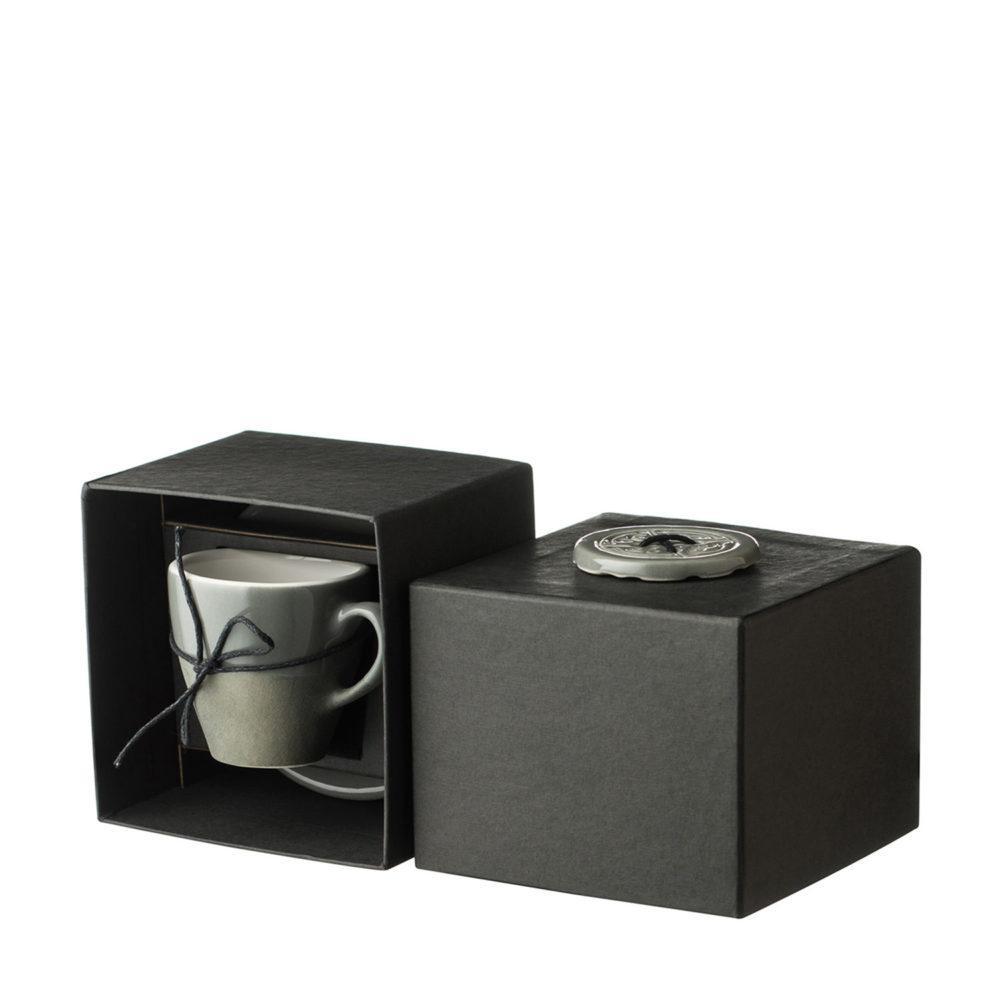Narrow Espresso Cup & Saucer Set