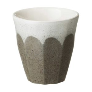 bevel collection cup dustygrey small