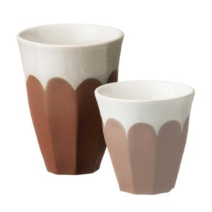 bevel collection cup dustyterracotta large