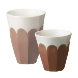 bevel cup dustyterracotta small