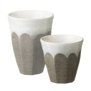 bevel cup dustygrey small