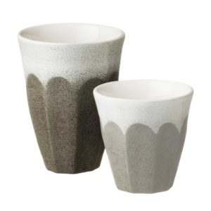 bevel collection cup dustygrey large