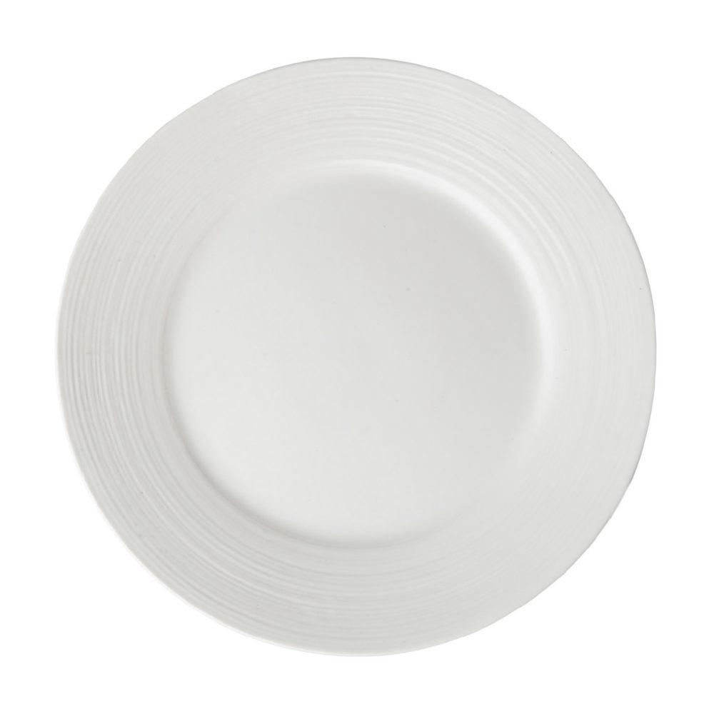 Lines Dessert Plate