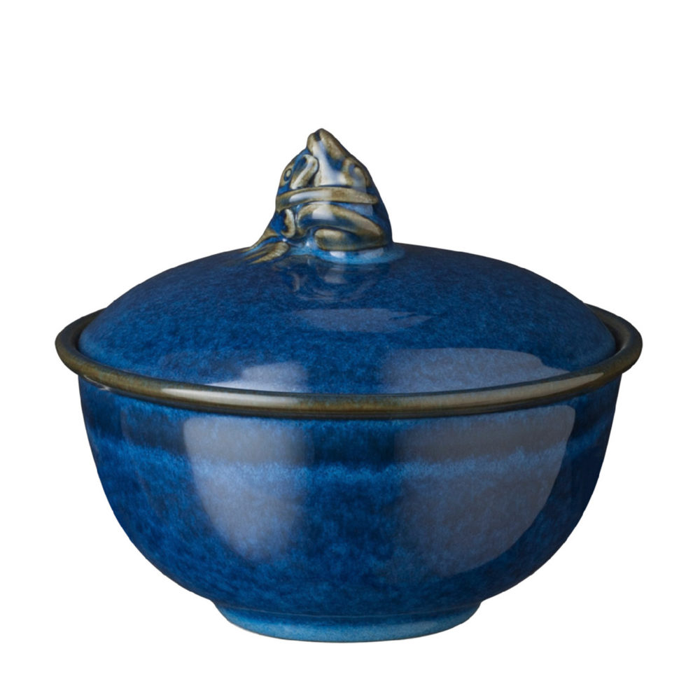 Frog Soup Bowl With Lid