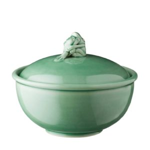 frog collection soup bowl