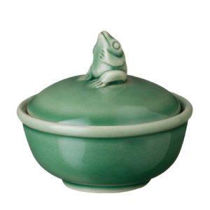 frog collection salt condiment
