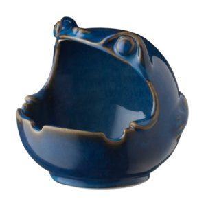 ceramic ashtray frog
