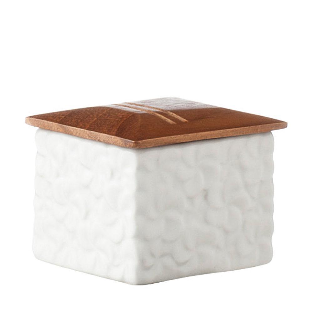 Frangipani Cotton Bud Container