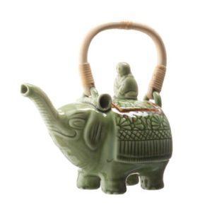 elephant style teapot