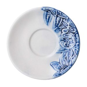 batik collection espresso saucer