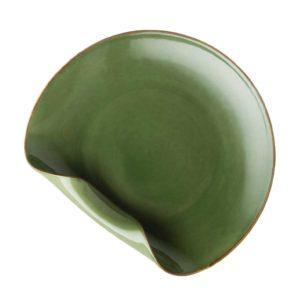folded serving plate