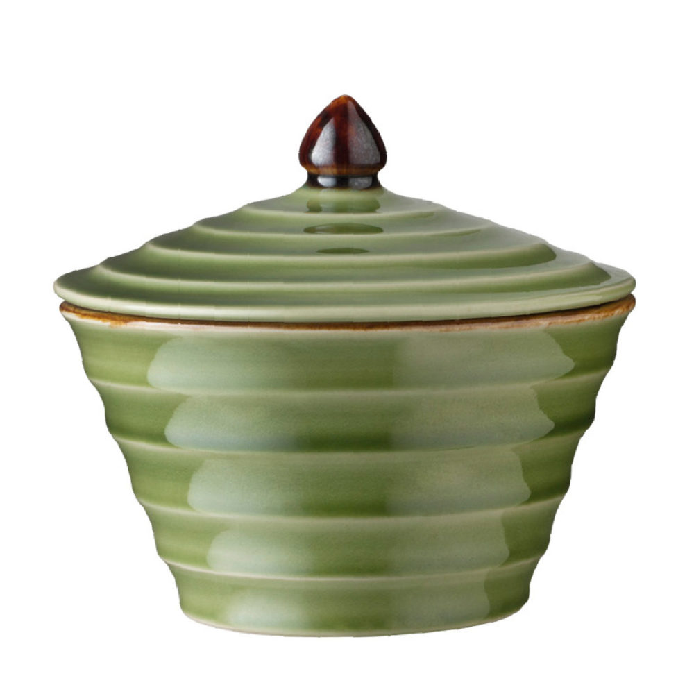 Scallop Soup Bowl With Lid
