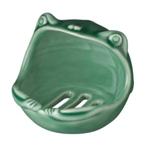 frog collection soap dish