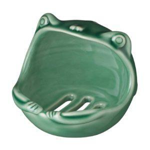 frog soap dish
