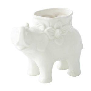 elephant style flower vase vase