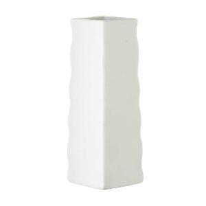 classic square flower vase