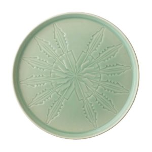 ceramic plate dinner plate lontar collection