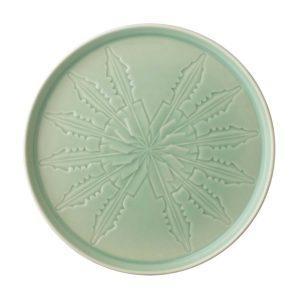 dinner plate lontar plate