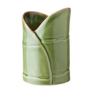 bamboo bathroom spa tootbrush cup