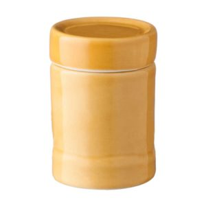 bamboo bathroom cotton bud container spa