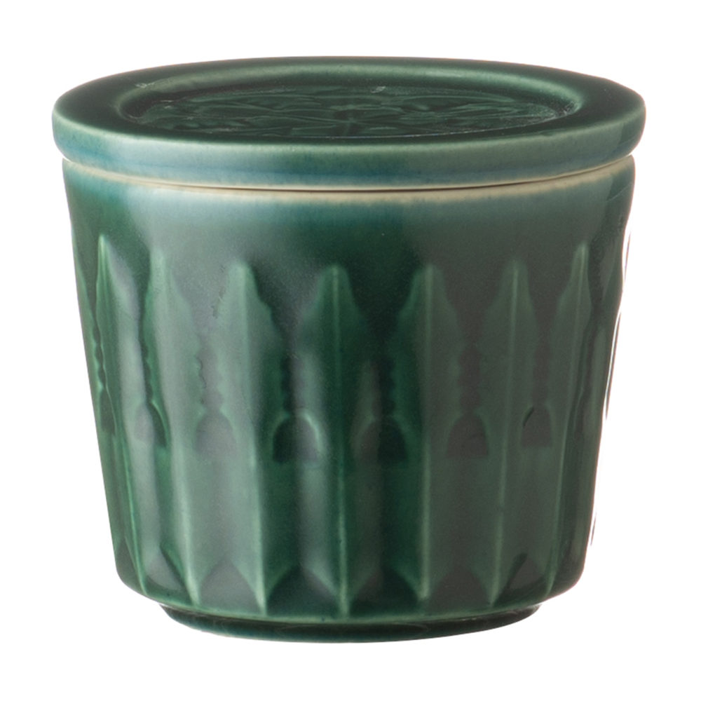 Lontar Tea Cup With Lid